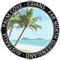 palm cove sticker graphic device