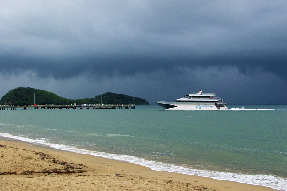 Palm Cove pier and QS